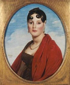 Jean Auguste Dominique Ingres - Portrait of Madame Aymon, or La Belle Zelie