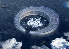 Architects design ways humans could live in space and under the sea - Urbanes Design Space Junk, Science Park, Ocean Current, Futuristic Design, City Architecture, Architect Design, Deep Sea, Under The Sea, Climate Change