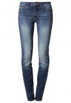 Wrangler - EVALYN - Jeans Slim Fit - salt stone  #wrangler #jeans #slimfit