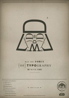 Star Fonts, quando Guerre Stellari passa in tipografia | Ciò che non puoi fermare