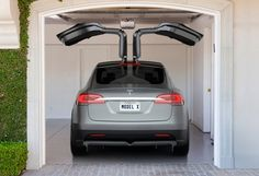 Tesla Model X Reportedly Coming Exclusively with All-Wheel Drive