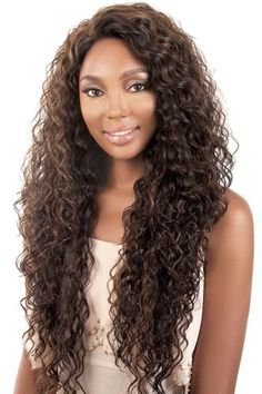 Lace Front Long Curly Brown Synthetic Wig Are The Best Quality Wigs. The Natural Looking Appearance Seems Like Your Own Hair. Shop The Top Quality Of Synthetic Wigs At Our Au Online Shore. Front Hair Styles, Curly Hair Styles, Natural Hair Styles, Curly Hair Care, Long Curly Hair, Synthetic Lace Front Wigs, Synthetic Wigs, Wig Hairstyles, Straight Hairstyles