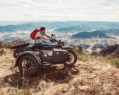 Ural Gear Up, we make the world's only 2WD sidecar motorcycle, ready to take you anywhere. Where will you explore? Photo:@shaun_daley with @treehousechocolate