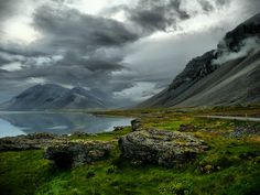 Iceland - East Fjords by kanbron, via Flickr