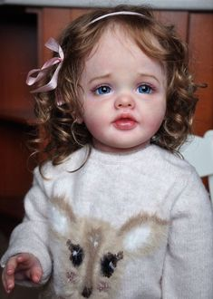 Alla's Babies Prototype Reborn Doll Toddler Girl Betty, Natali Blick, IIORA