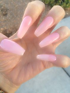 #longnails #ballerinanails