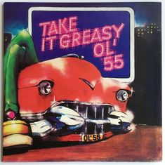 Ol' 55 Take It Greasy LP with Gatefold plus Insert Excellent Condition New Wave, Ol, Album Covers, Vinyl Records, Blues, Conditioner, Prints, Ebay