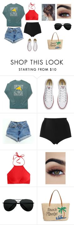 """""""Going on the boat"""" by sarapotter98 on Polyvore featuring Comfort Colors, Converse, Levi's, Monki, J.Crew and Nordstrom"""