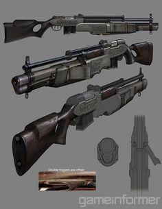 Combo Gun - The Order: 1886 Wiki