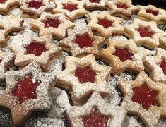 Linzersterne Christmas Baking, Gingerbread Cookies, Waffles, Breakfast, Desserts, Food, Popular Recipes, Food Food, Sterne