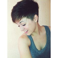 pixie cut with shaved sides and nape - Google Search