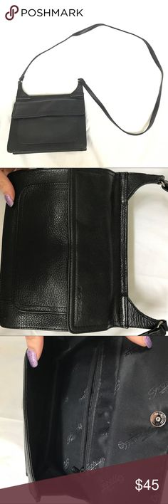 Fossil Black Leather Crossbody Bag To be Written. Bundle to save 20% on your order and I love offers! Fossil Bags Crossbody Bags