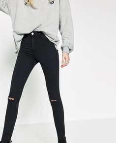 Image 3 of HIGH ELASTICITY JEGGINGS from Zara