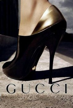 Women's Fashion High Heels : Imgend Gucci black and gold heels Hot Shoes, Crazy Shoes, Me Too Shoes, Shoes Heels, Gucci Shoes, Vans Shoes, Bootie Heels, Dress Shoes, Balenciaga Shoes