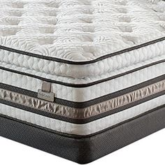 The Serta iSeries Merit Super Pillow Top Mattress Set combines Cool Action Dual Effects gel memory foam with the softness of a traditional pillow top innerspring mattress. A Serta Comfort XD foam layer gently contours to the body.