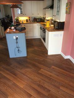 Kitchen Karndean flooring