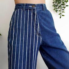 a ✨ - - DIY Clothes Tutorial ideas . a ✨ – – DIY clothes tutorial ideas a ✨ – Source by Painted Jeans, Painted Clothes, Looks Style, Looks Cool, Diy Fashion, Fashion Outfits, Fashion Design, Tomboy Fashion, Diy Clothes Tutorial