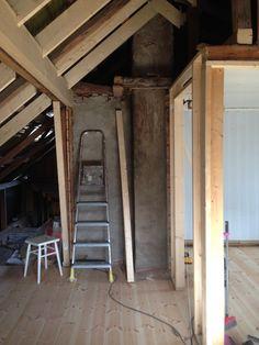 2 etasje vår 2014 Bygges opp