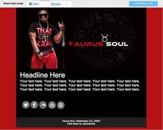 html email sample for musician Html Email, Email List, Templates, Music, Musica, Stencils, Musik, Template, Muziek