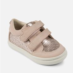 1b7f792c556d4 Mayoral Rose Gold Trainers – Fox + Kit Children's Boutique #mayoral  #rosegold #shoes