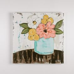 Ashley+Anthony+Today's+Bouquet+Painting+-+ 30H+x+30W+x+2.5D Entire+piece+is+made+out+of+wood+with+sturdy+construction Not+your+style?+Much+of+our+art+is+purchased+immediately+by+customers+and+designers+on+our+mailing+list+as+soon+as+it+arrives.+Be+the+first+to+know+when+canvas+art+arrives+bysigning+up+for+our+canvas+art+mailing+list Looking+for+a+specific+size+and+color?+Call+us+(901-850-0892)+and+we+will+put+you+on+a+special+form+to+be+called+when+that+color/size+arrives+that+migh...