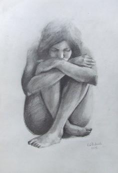 pl art w 2019 art, art sketches i pen Dark Art Drawings, Art Drawings Sketches, Cartoon Drawings, Easy Drawings, Pencil Drawings, Figure Sketching, Figure Drawing Reference, Crayon, Life Drawing