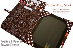 E-Reader Cover Pattern $6.00