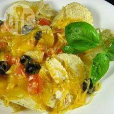 Foto recept: Nachos met restjes kip