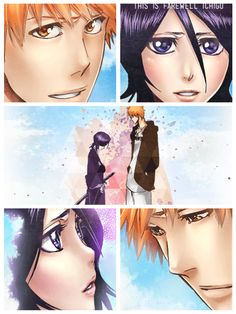 See ya later, Rukia...  Thank you.   HE NEVER SAYS GOODBYE TO HER ONCE THROUGHT THE SHOW, ITS AS IF HE ALWAYS KNOWS HE'LL SEE HER AGAIN SOMEWHERE SOMEDAY IN THE FUTURE