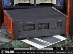 Really love the walnut root sides . Yamaha Hi Fi, Yamaha Audio, Hifi Audio, Audiophile, Sound & Vision, Vintage Ads, Hams, Cassette Tape, Music Lovers