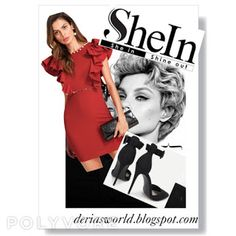 Shein 2018 Promotions-Deria' s Choices Get The Look, Make Money Online, Choices, Peplum Dress, Promotion, About Me Blog, Dresses, Style, Fashion