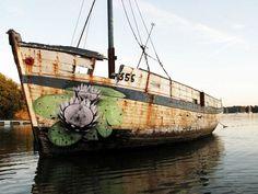 ludo street art | ludo-street-art-flower-boat