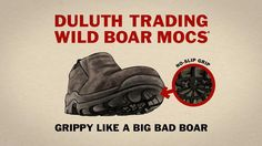 Duluth Trading TV Commercial: Grippy Like a Big Bad Boar