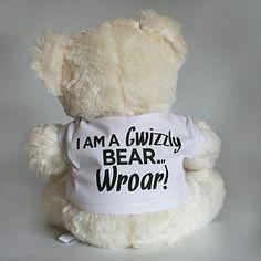 Furwy Wascals Gwizzly Bear Medium Side Saddle, Teddy Bear, Medium, Stuff To Buy, Teddy Bears, Medium Long Hairstyles