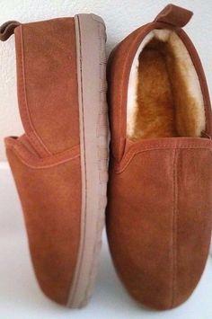 d5821150fa2 Tamarac by Slippers Men s Cody Sheepskin Slipper Allspice Size  8910111213Wide  TamaracbySlippersInternational  SlippersShoe Mens Moccasin