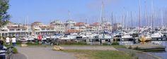 Aanzicht appartementen Marina Port Zélande.