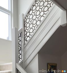Miles and Lincoln - the UK's leading designer of laser cut screens for architecture and interiors, laser cut panels, balustrades and suspended ceilings Laser Cut Screens, Laser Cut Panels, Juliet Balcony, Staircase Design, Patio Doors, Agra, Stairways, Laser Cutting, Paris