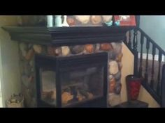 Stone: River Rock, Color: Old Chief Best Wall Colors, Manufactured Stone Veneer, Stone Gallery, River Stones, Interior Decorating, Interior Design, Black Furniture, Stone Work, Interior And Exterior