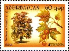 Sello: Europa (Azerbaiyán) (Europa (C.E.P.T.) 2011 - Forests) Mi:AZ 841A,Yt:AZ 722,WAD:AZ007.11