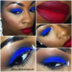 4th of July Makeup!