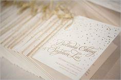 Elegant gold wedding program #weddingideas #goldwedding #classicwedding #weddingprogram #wedding