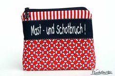 Kosmetiktasche -Takelkramtasche-Täschchen maritim von FLINTHOLM   auf DaWanda.com