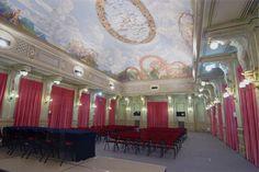 La sala delle cariatidi