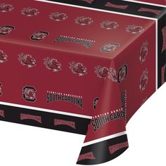 Univ of South Carolina 54 x 108 Plastic Tablecover/Case of 12 Tags: University of South Carolina; Tablecover; Collegiate; University of South Carolina Tablecover;University of South Carolina party tableware; https://www.ktsupply.com/products/32786326438/Univ-of-South-Carolina-54-x-108-Plastic-TablecoverCase-of-12.html