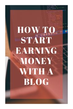 It's easy to start earning money with a blog, but it require a lot of work. If you think you can't write something that will interest some others, YOU ARE WRONG. Everybody have something to share, it can be an experience or knowledge on a specific subject. It can be about Finance, Trading, Parenting, a … Continue reading How to start earning money with a blog → How To Start A Blog, How To Make Money, Earning Money, Managing Money, Financial Literacy, Financial Planning, Blog Writing, Blogger Tips, Blogging For Beginners