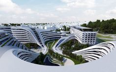 Zaha Hadid Unveils Masterplan For Bendy Beko Building In Belgrade | Architizer