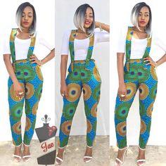 Latest Ankara Jumpsuits 2018 Ultra Stylish Ankara Styles for Ladies Latest Ankara Styles 2018 African Fashion Trends African Fashion Designers, African Fashion Ankara, Latest African Fashion Dresses, African Print Dresses, African Print Fashion, Africa Fashion, African Dress, African Prints, African Fabric
