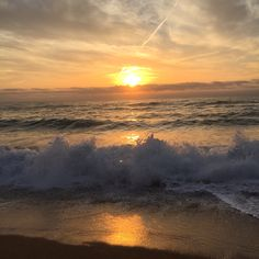 Beautiful sunrise from the beach of platja del raco! Hope you've a lovely day