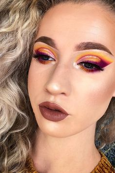 This Summer Should Take Care Of The Beach, You Should Take Care Of Eye Shadow Training New 2019 - Page 17 of 41 - clear crochet Halloween Eyeshadow, Halloween Face Makeup, Eyeshadow Looks, Eyeshadow Makeup, Makeup Techniques, Take Care, Beauty Ideas, Wonderful Time, Makeup Ideas