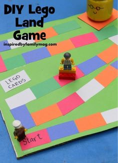 Board games 324470348123239293 - diy lego land game lego fun Source by stepangel Lego Activities, Lego Games, Lego Toys, Diy Games, Activity Games, Math Games, Family Activities, Lego Board Game, Board Games For Kids